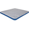 High Peak Cross Beam Air Bed Extra Long Light Grey/Blue
